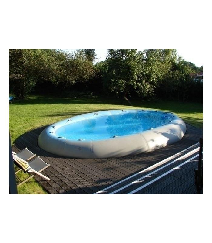 Goedkoop zwembad ovline 4000 van zodiac opbouwzwembad van for Polyester zwembad goedkoop