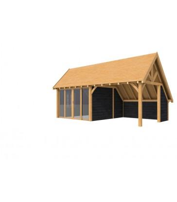 Tuinhuis douglas Herent: 1050 x 400 cm