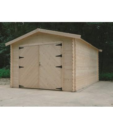 Tuinhuis-Garage Traditional houten poort