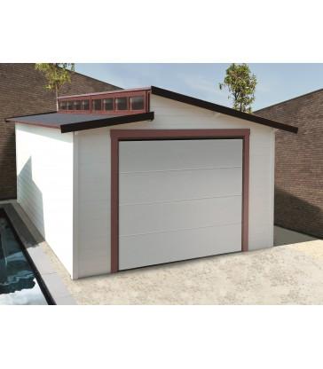 Tuinhuis-Garage Torino -sectionaal poort