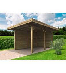 Goedkope garage of carport eigen plaatsingsdienst en for Zwembad zelfbouwpakket