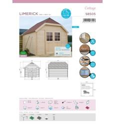 Tuinhuis-Blokhut Limerick