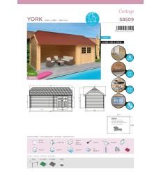 Tuinhuis-Blokhut York