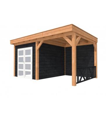 Tuinhuis douglas  Plat dak  Premium 3: 500 x 310 cm