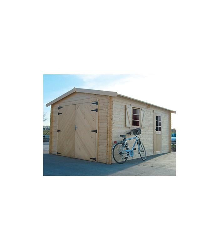 Tuinhuis-Houten garage