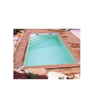 Azteck zwembad Ovaal