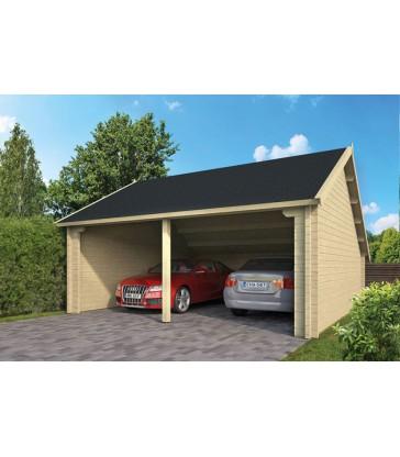 Tuinhuis-Blokhut garage NYSSE