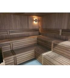 Massief thermo aspen sauna op maat