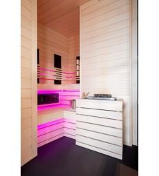 Massief aspen sauna op maat