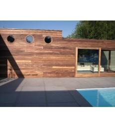 BOUTERSEM: modern padouck bijgebouw