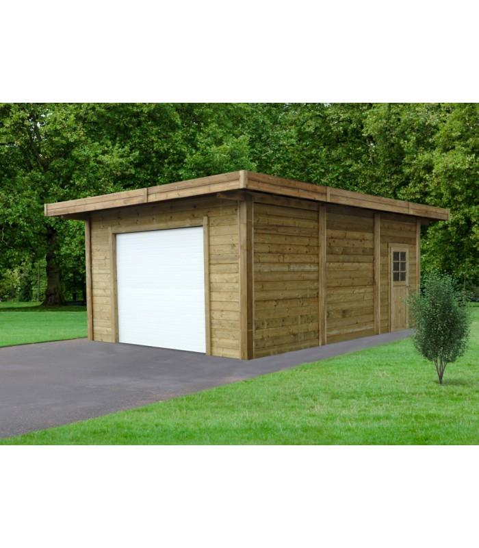Fonkelnieuw Goedkope garage of carport. Eigen plaatsingsdienst en maatwerk. PB-73