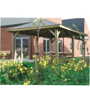 Paviljoen-Kiosk 4490 x 3470 mm