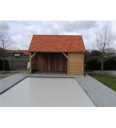BREE: eiken poolhouse met ir-cabine